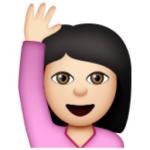 white-happy-person-raising-one-hand
